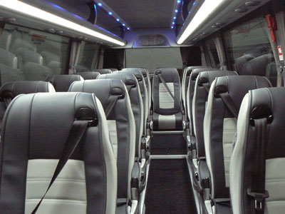 Rent a bus Athens-Luxury coach and minibus in Athens, Greece